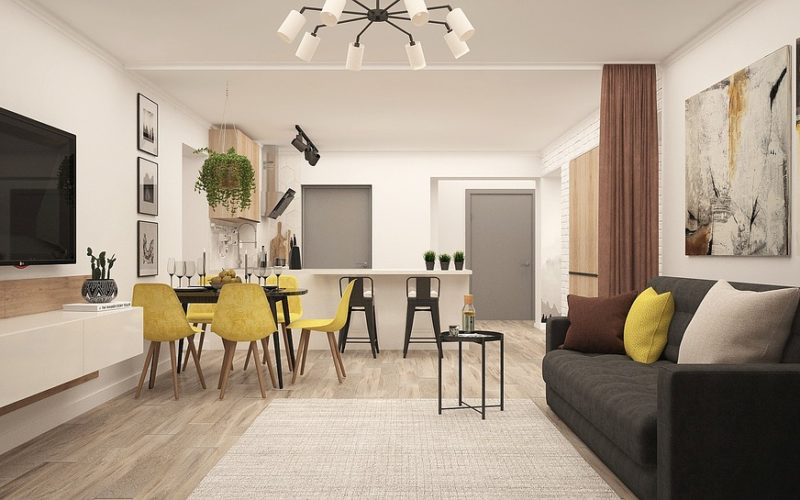 Quick Answer How Do I Decorate My Kitchen Living Room Open Plan