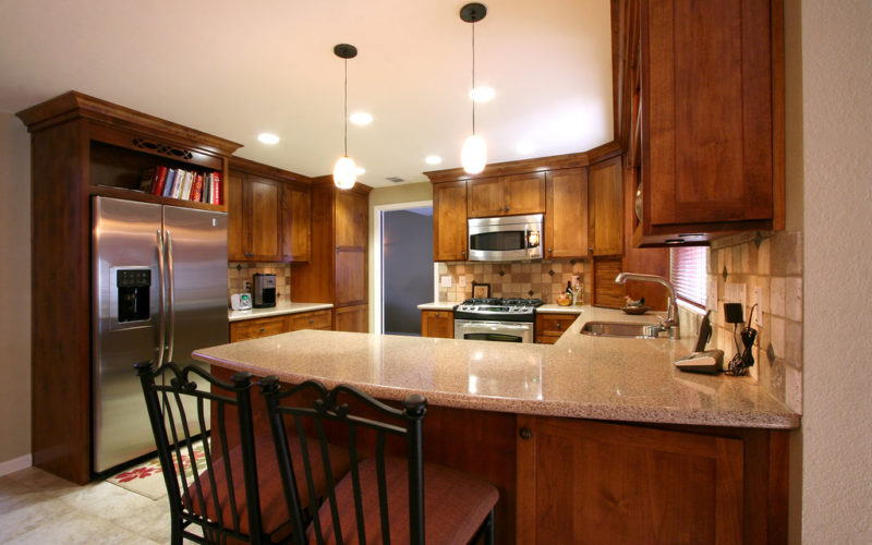 Quick Answer Can Cherry Cabinets Be Lightened Kitchen